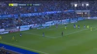 Adrien Thomasson scores in the match Strasbourg vs Nantes