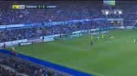 Leo Dubois scores in the match Strasbourg vs Nantes