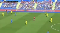 Getafe 4-0 Villarreal - Golo de Bergara (67min)