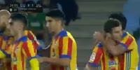Real Sociedad 2-3 Valencia - Golo de Rodrigo (26min)