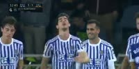Real Sociedad 2-3 Valencia - Golo de Aritz Elustondo (33min)