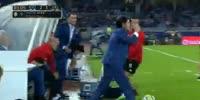 Real Sociedad 2-3 Valencia - Golo de S. Zaza (85min)