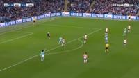 Manchester City 2-0 Shakhtar Donetsk - Golo de K. De Bruyne (48min)