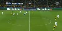 Dortmund 1-3 Real Madrid - Goal by P. Aubameyang (54')