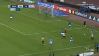Napoli 3-1 Feyenoord - Golo de S. Amrabat (90+3min)