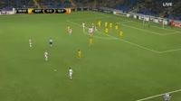 Astana 1-1 Slavia Praha - Golo de M. Ngadeu-Ngadjui (18min)