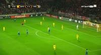 BATE 2-4 Arsenal - Golo de T. Walcott (9min)
