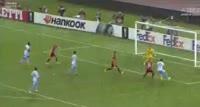 Lazio 2-0 Zulte-Waregem - Golo de F. Caicedo (18min)