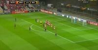 Sporting Braga 2-1 İstanbul Başakşehir - Golo de E. Belözoğlu (28min)