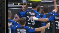 Olympique Lyonnais 1-1 Atalanta - Golo de A. Gómez (57min)