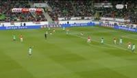 Hungary 0-1 Portugal - Golo de André Silva (48min)