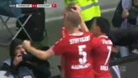 Eintracht Frankfurt 2-1 Stuttgart - Golo de S. Terodde (61min)