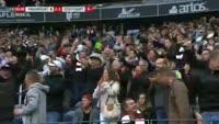 Eintracht Frankfurt 2-1 Stuttgart - Golo de S. Haller (90+3min)