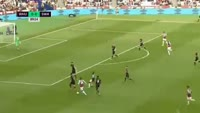 West Ham United 1-0 Swansea City - Golo de D. Sakho (90min)