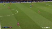 Chelsea 0-1 Manchester City - Golo de K. De Bruyne (67min)