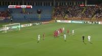 Christian Eriksen scores in the match Armenia vs Denmark