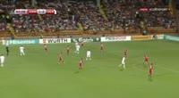 Armenia 1-4 Denmark - Golo de T. Delaney (81min)
