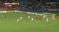 Thomas Delaney scores in the match Armenia vs Denmark