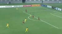 Zhi Xiao scores in the match Qatar vs China