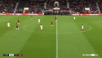 Demarai Gray scores in the match England U21 vs Latvia U21