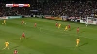 Hal Robson-Kanu scores in the match Moldova vs Wales