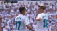 Real Madrid 1-1 Levante - Golo de Lucas Vázquez (36min)