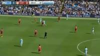 Manchester City 5-0 Liverpool - Golo de Gabriel Jesus (45+6min)