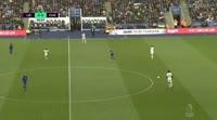 Leicester City 1-2 Chelsea - Golo de Álvaro Morata (41min)