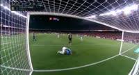 Barcelona 5-0 Espanyol - Golo de Piqué (87min)