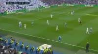 Adrian Lopez Alvarez scores in the match Real Madrid vs Dep. La Coruna