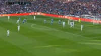 Jose Ignacio Fernandez Iglesias scores in the match Real Madrid vs Dep. La Coruna
