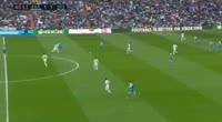 Gareth Bale scores in the match Real Madrid vs Dep. La Coruna
