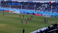Nivaldo Rodrigues Ferreira scores in the match Lok. Tashkent vs Al Wahda
