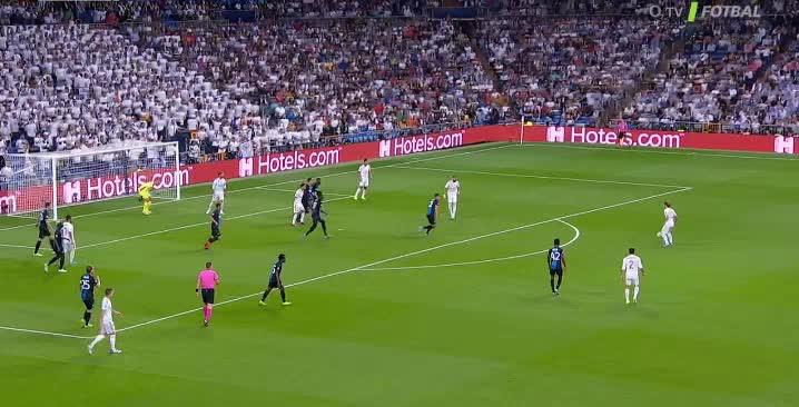 هدف أول ل ريال مدريد (سيرخيو راموس)