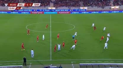 هدف سادس ل بلجيكا (يوري تيليمانس)