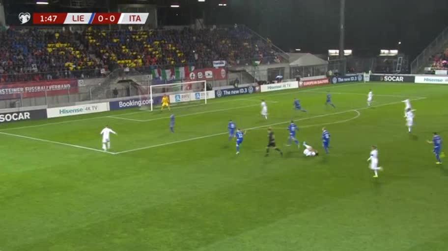 هدف أول ل إيطاليا (فيديريكو بيرنارديسكي)