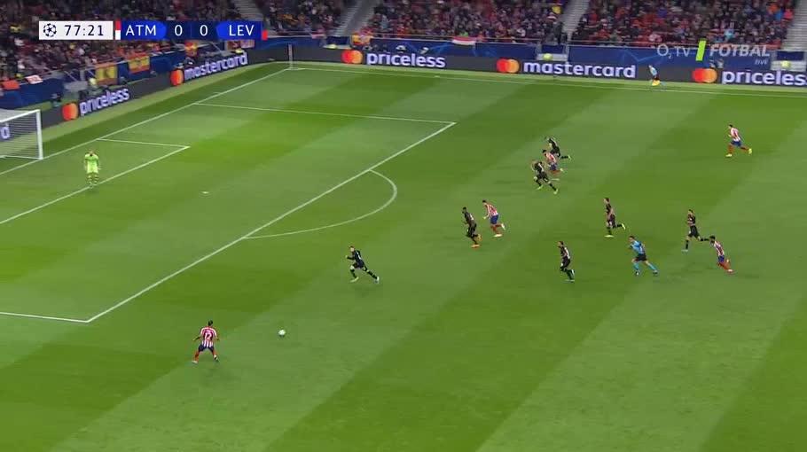 هدف أول ل أتليتكو مدريد (ألفارو موراتا)