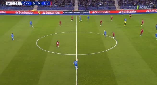 هدف أول ل ليفربول (أليكس أوكسليد تشامبرلين)