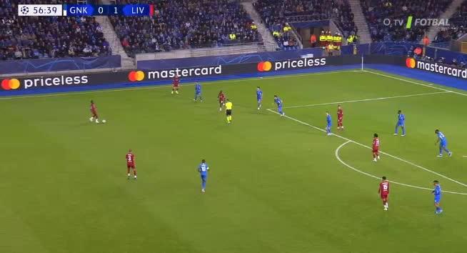 هدف ثاني ل ليفربول (أليكس أوكسليد تشامبرلين)