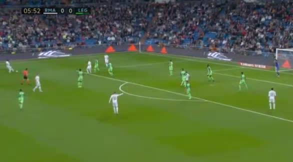 هدف أول ل ريال مدريد (رودريجو)