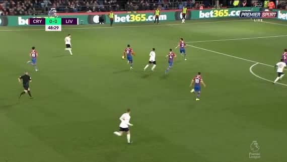 هدف أول ل ليفربول (ساديو ماني)