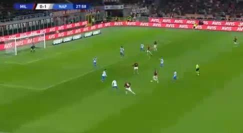 هدف أول ل ميلان (جياكومو بونافينتورا)