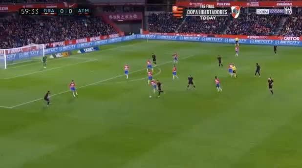 هدف أول ل أتليتكو مدريد (رينان لودي)