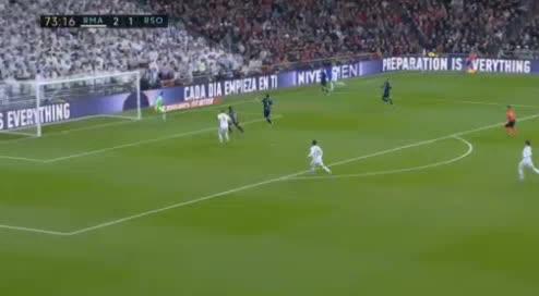 هدف ثالث ل ريال مدريد (لوكا مودريتش)