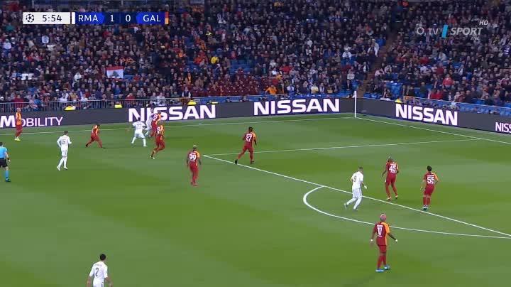 هدف ثاني ل ريال مدريد (رودريجو)
