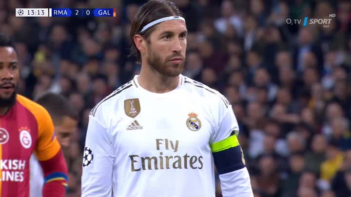 هدف ثالث ل ريال مدريد (سيرخيو راموس)