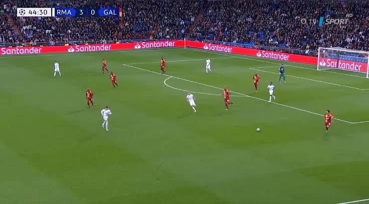 هدف رابع ل ريال مدريد (كريم بنزيما)