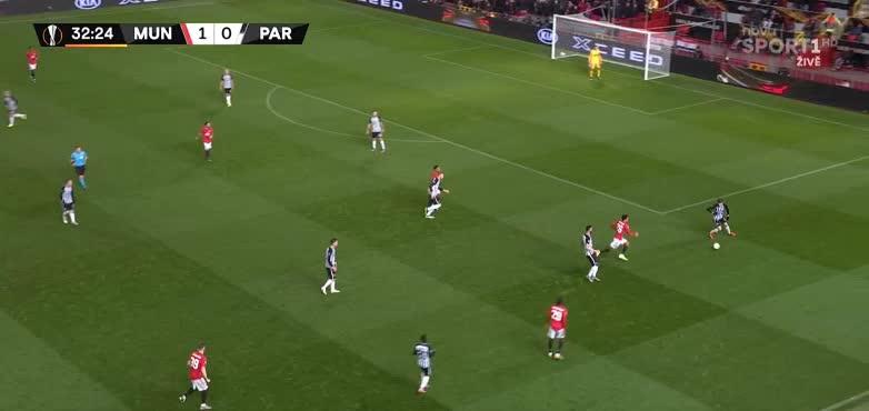 هدف ثاني ل مانشستر يونايتد (أنتوني مارسيال)