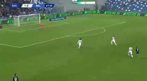 هدف ثاني ل ساسولو (جيريمي بوجا)