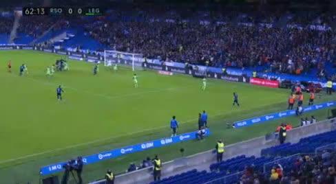 هدف أول ل ريال سوسيداد (ميكيل ميرينو)